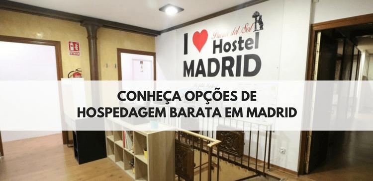 Hospedagens Baratas em Madrid - Hostels em Madrid