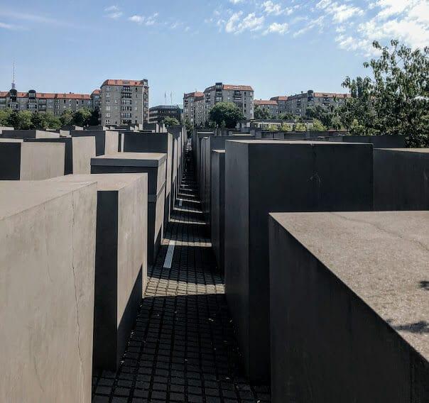 O que fazer em Berlim Memorial do Holocausto.