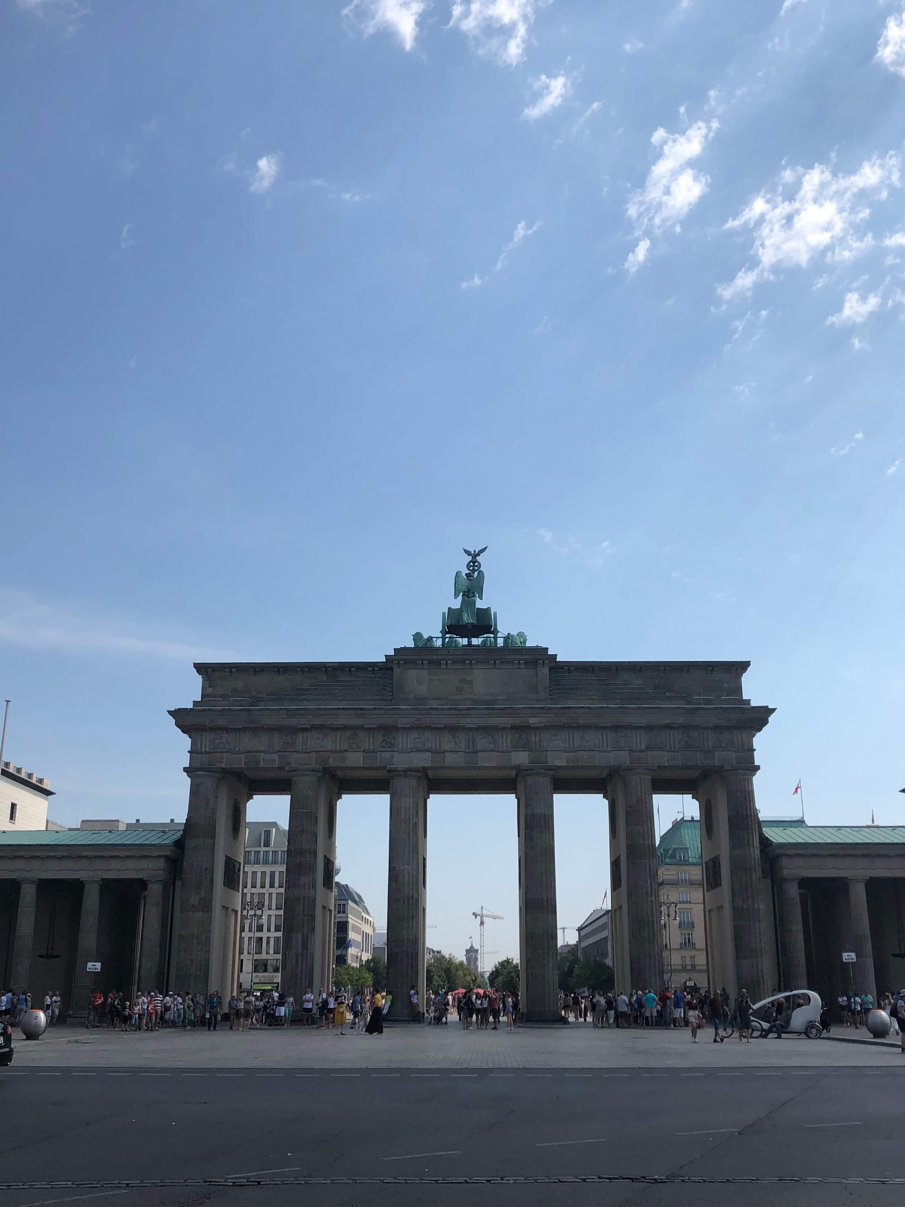 Portão de Brandeburgo, roteiro em berlim