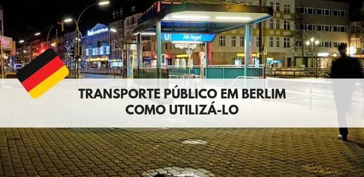 transporte público em Berlim