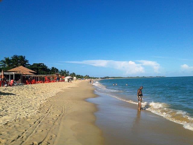 Praia de Taperapuã, locais de onde ficar em porto seguro